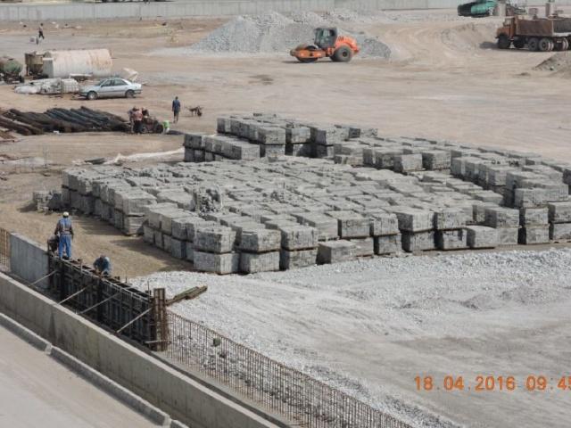 Rajaee Port Project